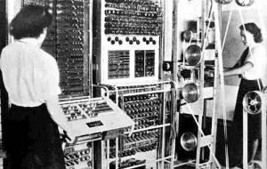 photo of the British machine, Colossus