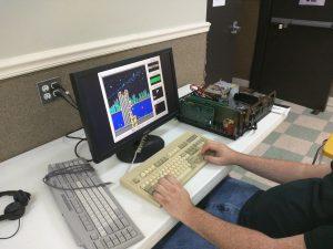 An IBM PC